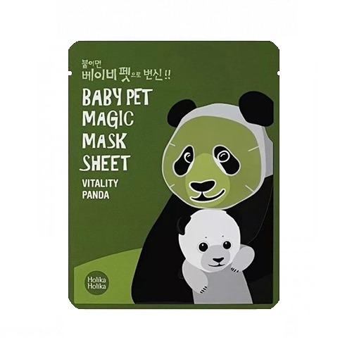 Holika Holika Baby Pet Magic Mask Sheet Vitality Panda miss eco sk